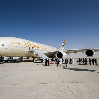 A380 manufacturer Airbus awards Etihad Airways top accolade