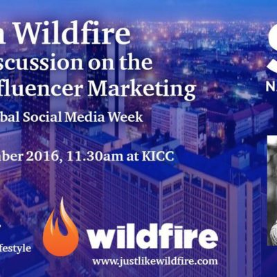 Social Media Week Nairobi – Influencer Marketing Panel